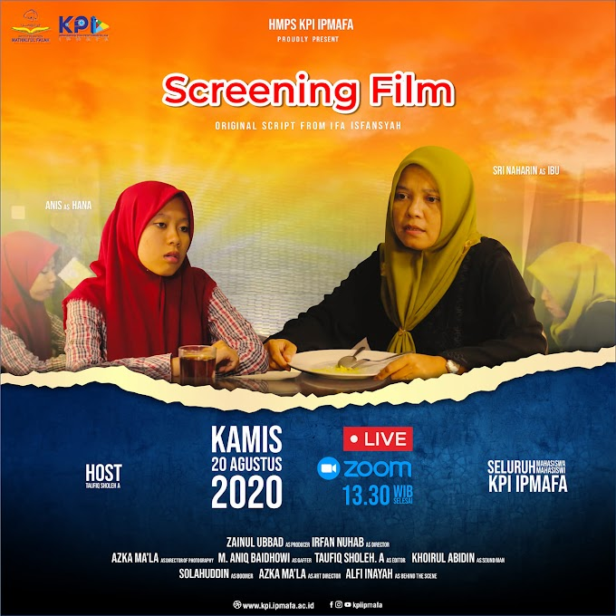 Screening Film HMPS KPI Menjadi Starting Point Produksi Film-Film KPI