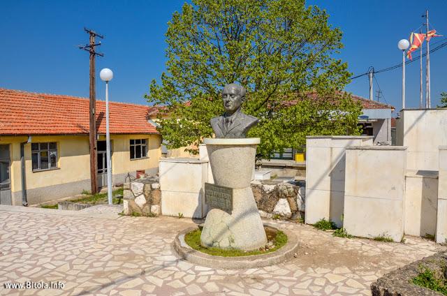 Vasko Karangelevski monument, Brusnik village, Bitola