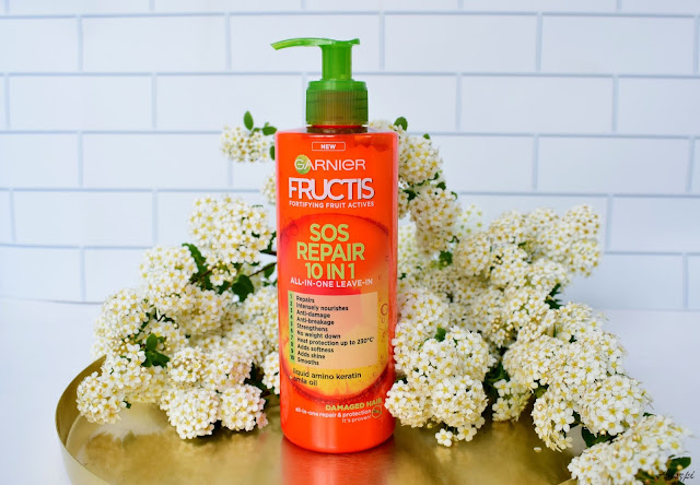Krem do włosów Fructis Sos Repair 10w1 Garnier