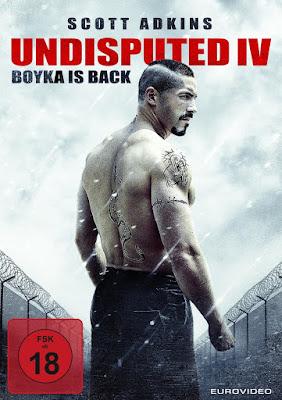 Boyka: Undisputed Poster