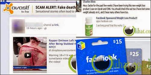 5 Tulisan di Facebook dan Twitter yang sebaiknya  jangan di Klik