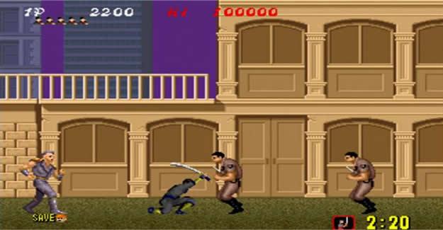 Shinobi - retro ninja games
