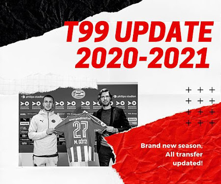 PES 2017 FINAL Update Based on PES 2021 For T99 Patch V4.1