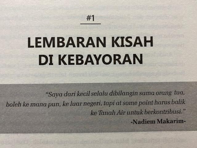 Nasihat keluarga Pak Nadiem Makarim