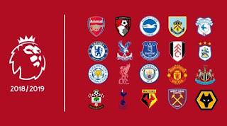Hasil & Klasemen Liga Inggris Minggu 19 Agustus 2018
