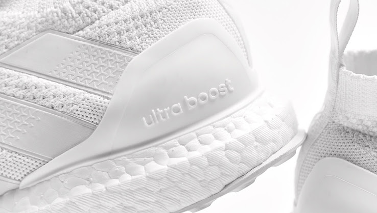 wholesale dealer 928f2 052a5 Triple White Adidas Ace 16+ PureControl Ultra Boost Released ...