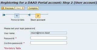 DAAD Portal