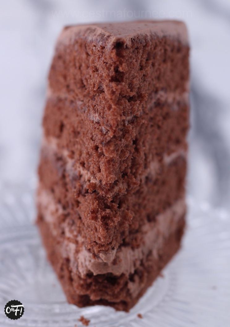 C Est Ma Fournee Le Layer Cake Au Chocolat