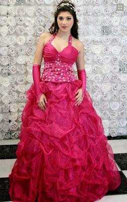 modelo de vestido de debutante