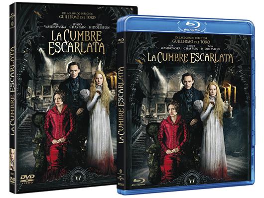 A la venta 'La Cumbre Escarlata' en Blu-ray, DVD y edición metálica
