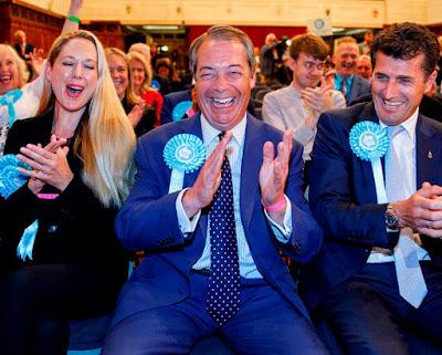 Nigel Farage en tête des élections européennes