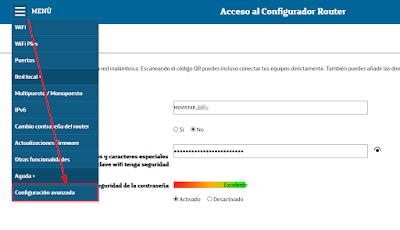 Mitrastar GPT-2541GNAC - Configuración Avanzada