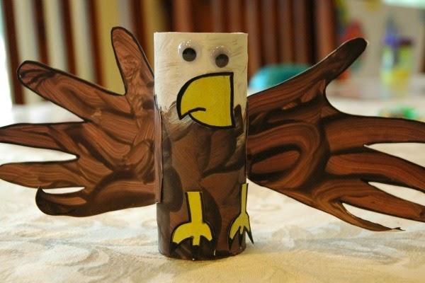 bald eagle craft for kids