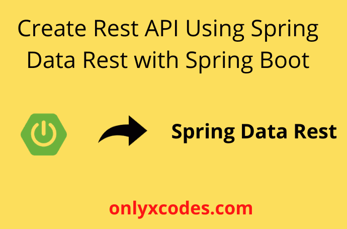 Create Rest API using Spring Data Rest Free Download