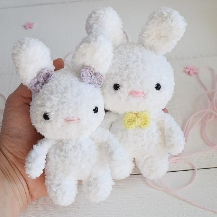 Velvet Bunny Amigurumi Free Crochet Pattern - Crochet For You | 751x751