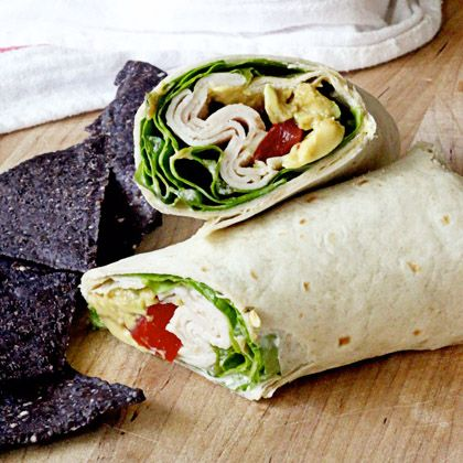 Chicken Avocado Ranch Wrap