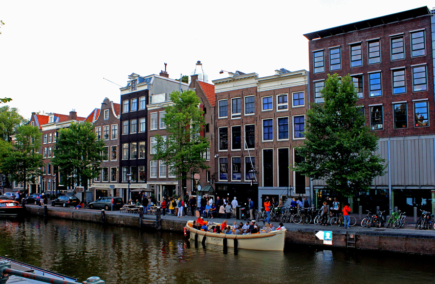 Amsterdam part II  –  ANNE  FRANK  HOUSE