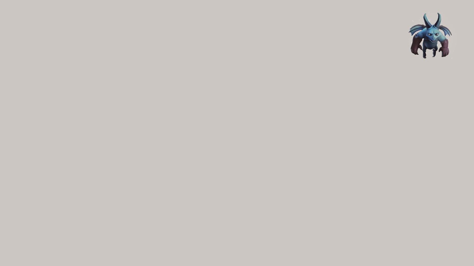 minion  u2013 minimalistic clash of clans hd wallpaper