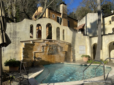 hot tub at Kenwood Inn & Spa in Kenwood, California