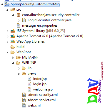 Spring Security Logout Example