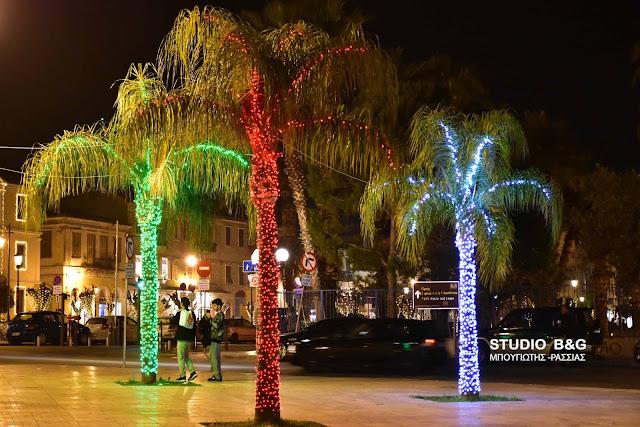 Φανταστικό το Χριστουγεννιάτικο Ναύπλιο (βίντεο)