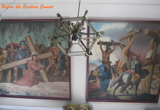 Painting on the ceiling of Binondo Church