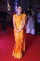 Shalini Pandey in Beautiful Orange Saree Sleeveless Blouse Choli ~  Exclusive Celebrities Galleries 046.JPG