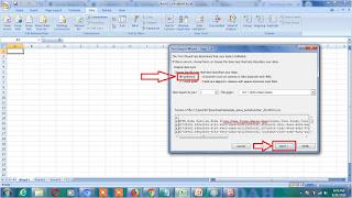 file csv Microsoft Excel