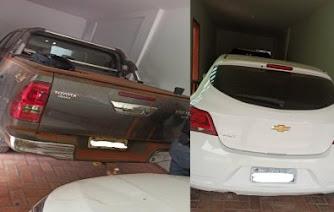 PM descobre 'depósito' de carros roubados