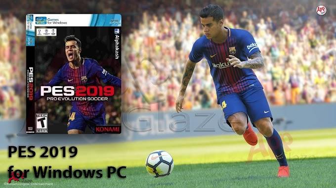 P.E.S 2019- Pro Evolution Soccer Game for Windows PC