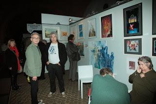 stoisko galerii RickShow House Gallery na Warszawskich Targach Sztuki