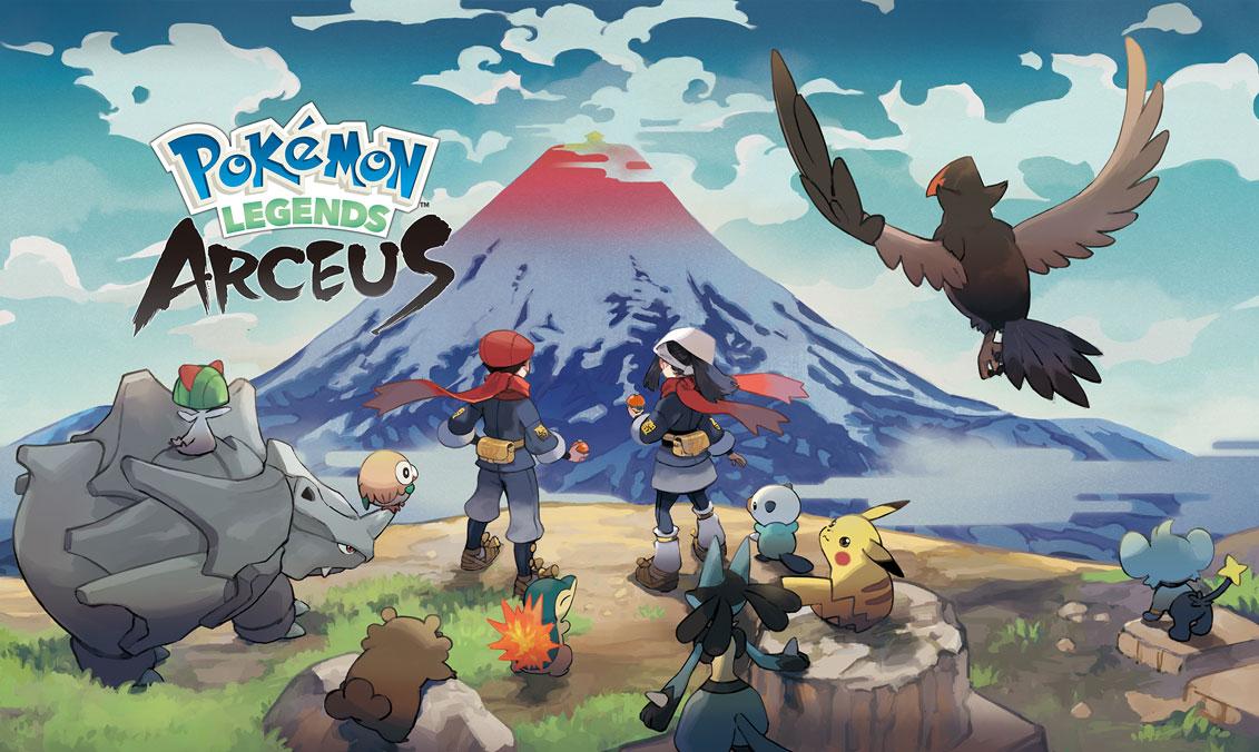 Pokémon Legends: Arceus (Switch) será lançado no dia 28 de janeiro de 2022  - Nintendo Blast