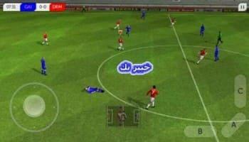 لعبة we2012 بها الدوري المصري