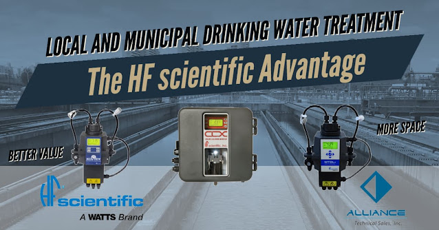 HF scientific Products for Drinking Water Facilities