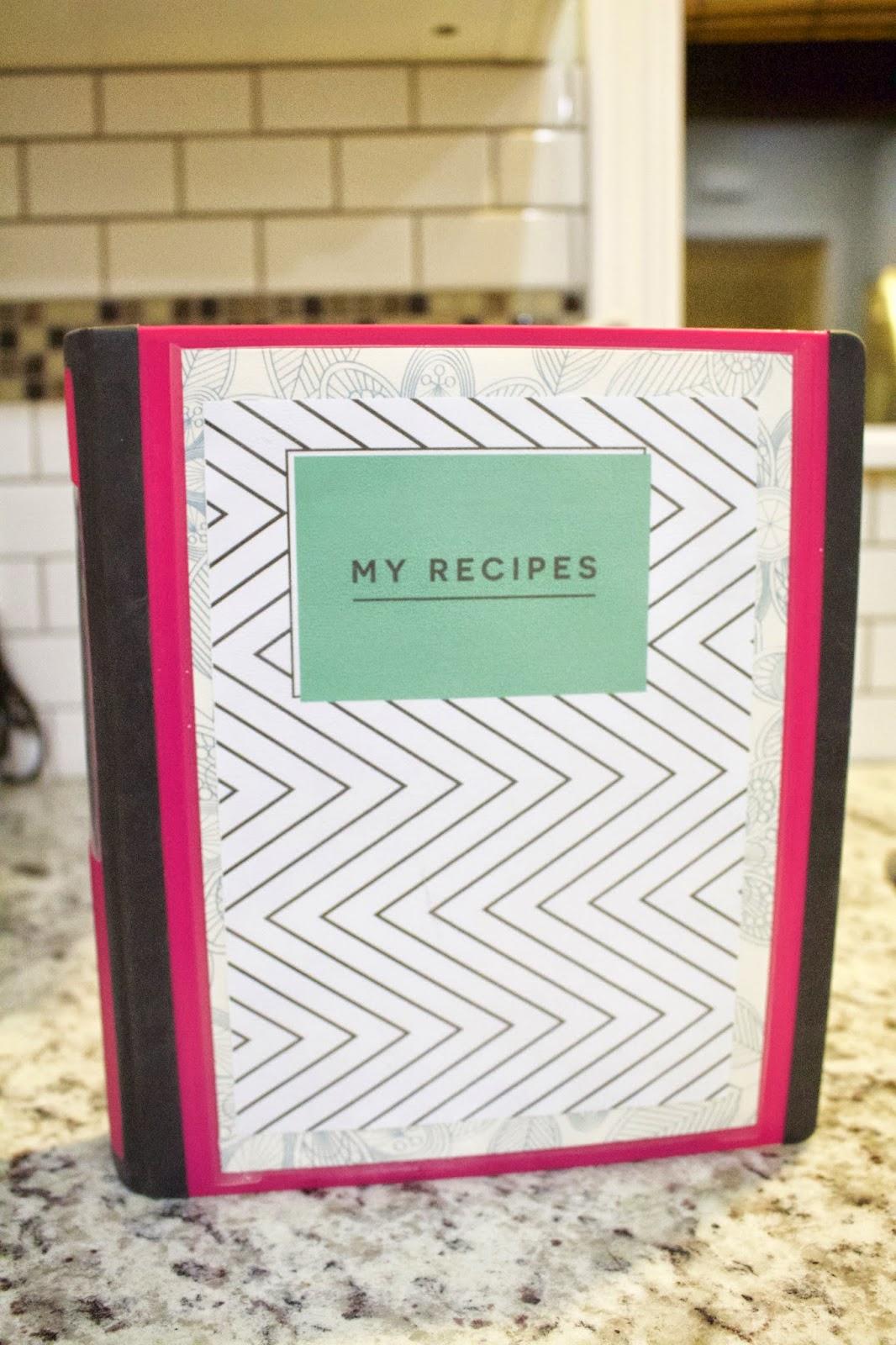 life on elizabeth a quick diy recipe binder