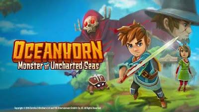Oceanhorn Mod Apk + OBB For Android Unlocked unlimited health full version