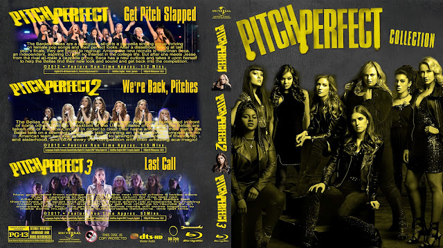 Pitch Perfect Collection Bluray Cover