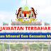 Minimum SPM~ Jawatan Kosong Jabatan Mineral Dan Geosains Malaysia