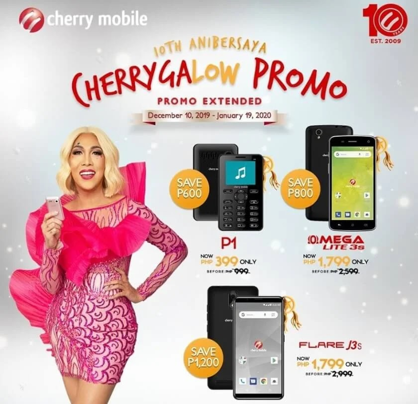 Cherry Mobile Flare J3s, Omega Lite 3s Now Priced at only Php1,799!