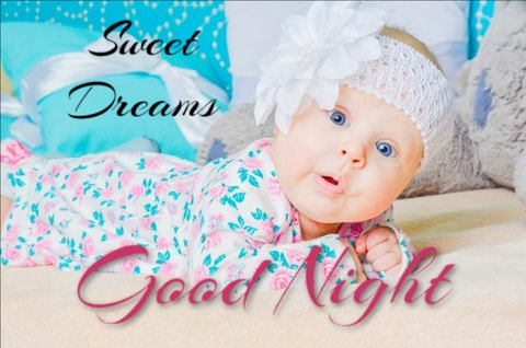 Good night images for baby 2020
