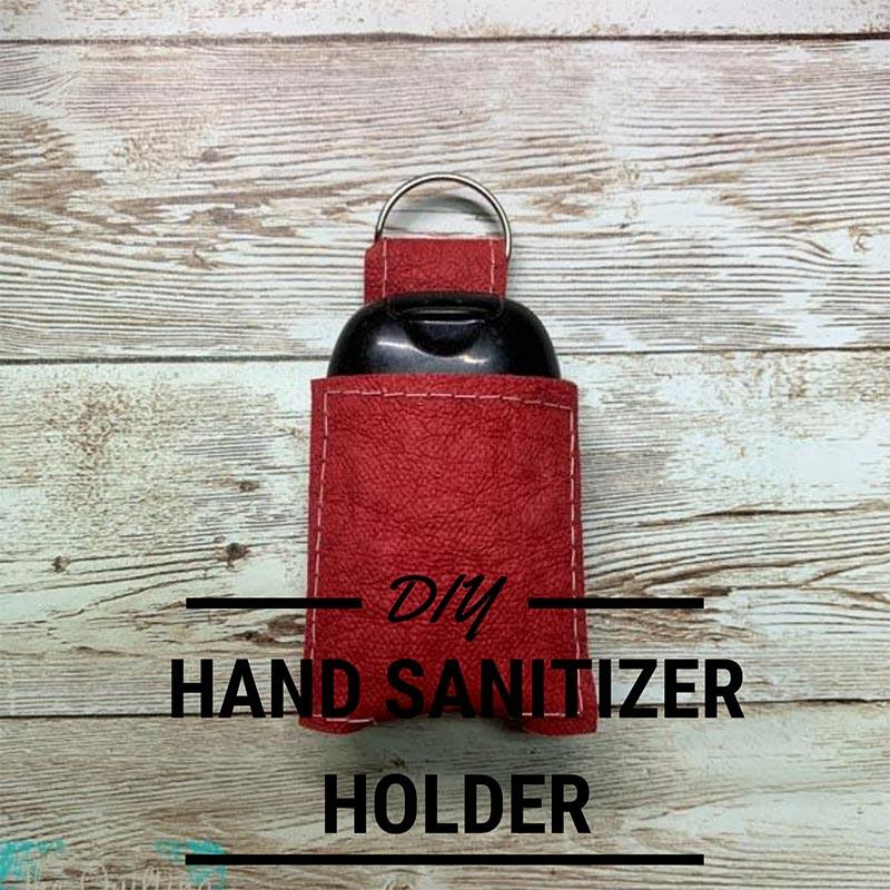 HAND SANITIZER HOLDER PATTERN SVG AND PDF