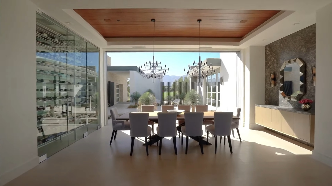 26 Interior Design Photos vs. 81318 Peary Pl, La Quinta, CA Luxury Home Tour