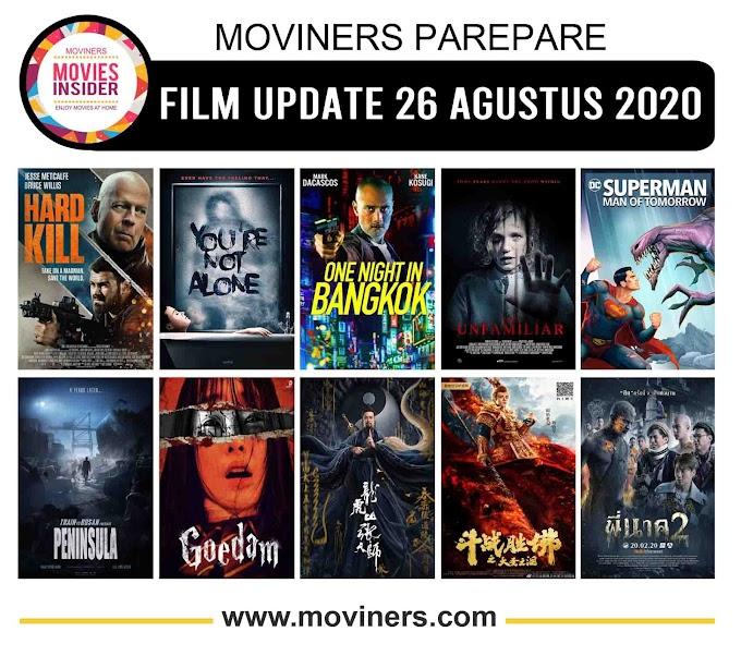 FILM UPDATE 26 AGUSTUS 2020