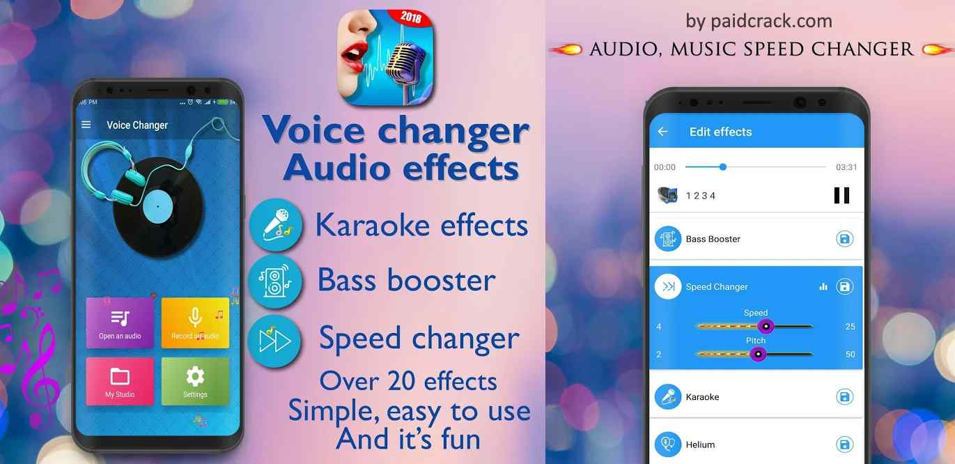 Voice Changer - Audio Effects Premium Mod Apk 1.8.1