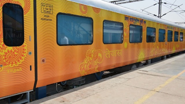 Tejas Express - Fastest Train Lucknow To Delhi