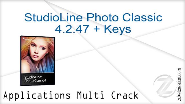 StudioLine Photo Classic 4.2.47 + Keys