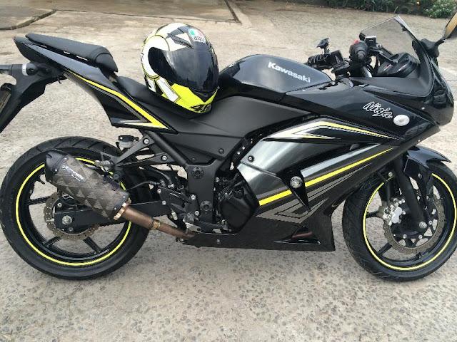 Kawasaki ninja 250, minha primeira meta