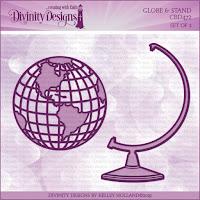 Divinity Designs LLC Custom Globe and Stand Dies