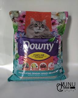 Pasir Gumpal Kucing Merk Downy