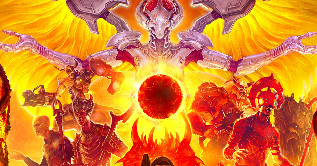 Doom Eternal Video Game Mobile Wallpaper Hd Mobile Walls